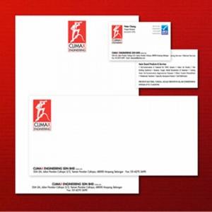 Climax Logo, Name Card, Letterhead Design by Jet Creative Design Malaysia