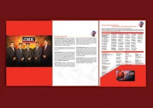 IME Company Profile Design - by Jet Creative Design