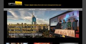 Optoscreen Creative Graphic Web Design by Jet Creative Design