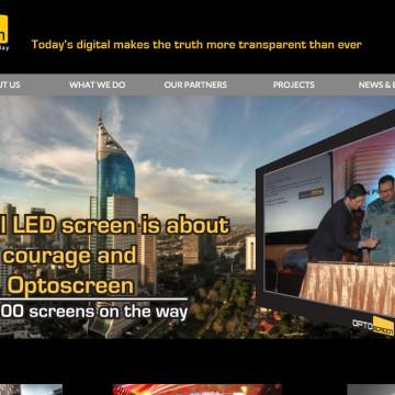 Optoscreen Web Design: International Standard
