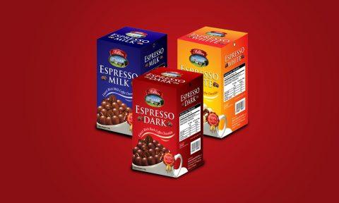 Milton Chocolate Packaging Design