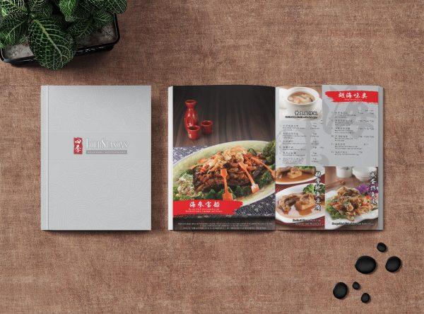 Four Seasons Restaurant Menu